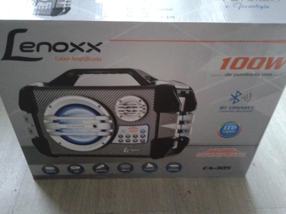 Caixa Portátil Multiuso Lenoxx Ca-305 100w Rms Bluetooth