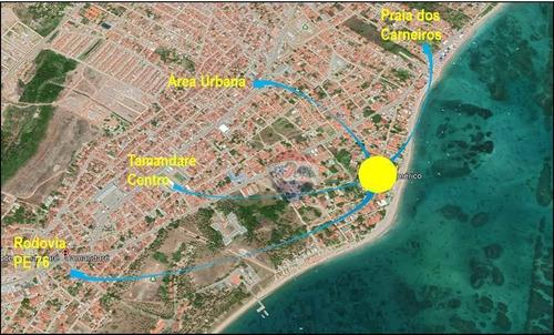 Terreno À Venda, 2779 M² Por R$ 4.700.000,00 - Tamandaré - Tamandaré/pe - Te0271