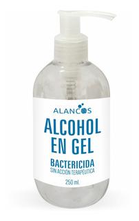 Alancos Alcohol En Gel Bactericida 250ml Con Dosificador