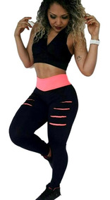 Calça Legging Roupa Academia Fitness Leg Suplex + Brinde!!!
