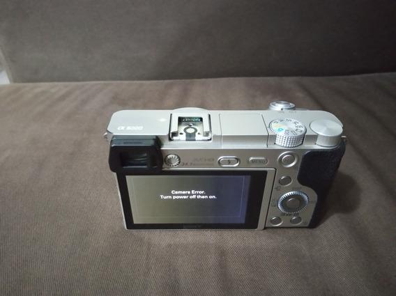 Câmera Sony A6000 Usada Corpo + Bateria + Memória 8gb + Usb