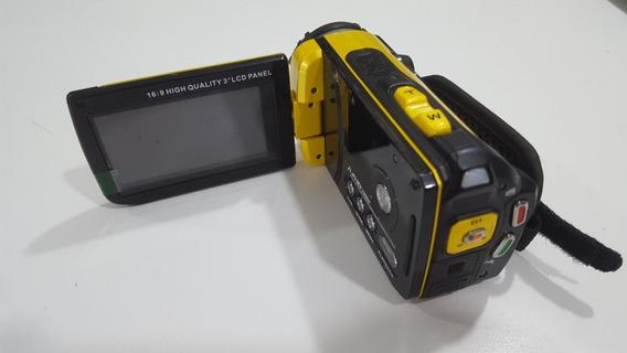 Mini Filmadora Powerpack Dcr-wp1200 Resistente A Água