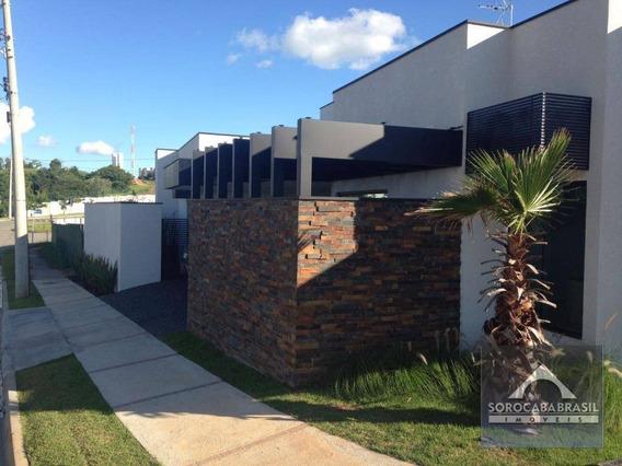 Casa Com 3 Dormitórios À Venda, 200 M² Por R$ 1.270.000 - Jardim Residencial Giverny - Sorocaba/sp, Próximo Ao Shopping Iguatemi. - Ca0069
