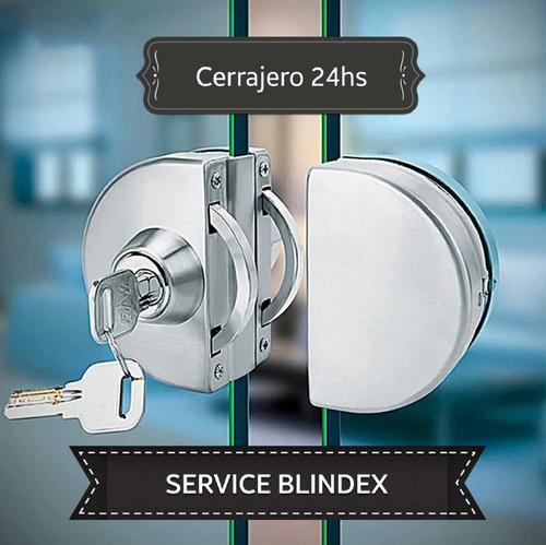 Imagen 1 de 5 de Cerrajero 24 Hs, Puertas Blindex, Autos - 1165696328 -