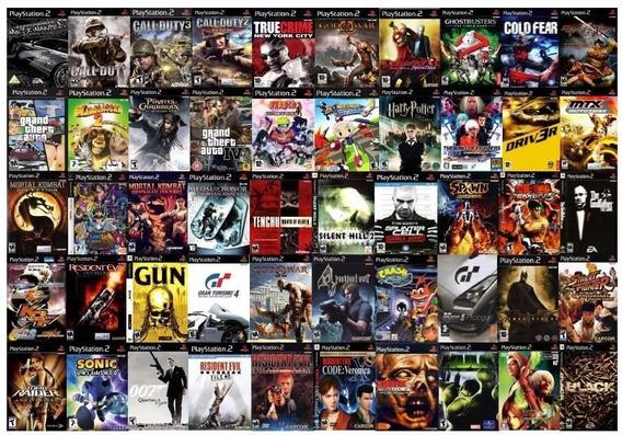 Jogos Ps2 Compre 5 Jogos Diversos Pague 4 Patch Desbloqueado