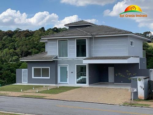 Casa À Venda Alphaville Granja Viana, Sp. - Ca0129