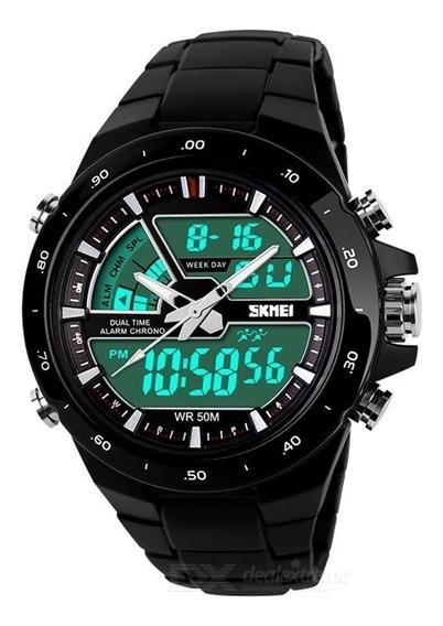 Relógio Skmei Masculino 1016 Original À Prova D