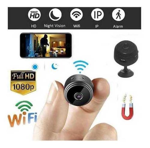 Mini Micro Câmera Secreta Espiã  Escondida Visão Noturna