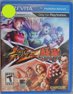 Street Fighter X Tekken Ps Vita Play Magic