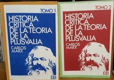 Historia Critica Teoria De La Plusvalia 2 Tomos - Marx, Karl
