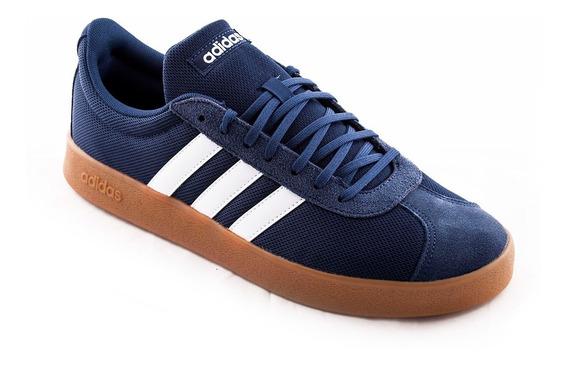 Zapatilla adidas Vl Court 2.0 Azul Hombre