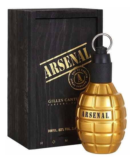 Perfume Arsenal Gold Masculino Gilles Cantuel 100ml Original
