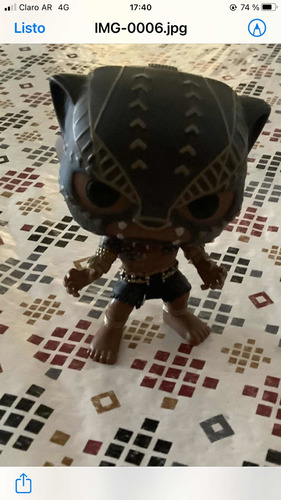 Funko Pop. Black Panther. Original. S/caja. Impecable.