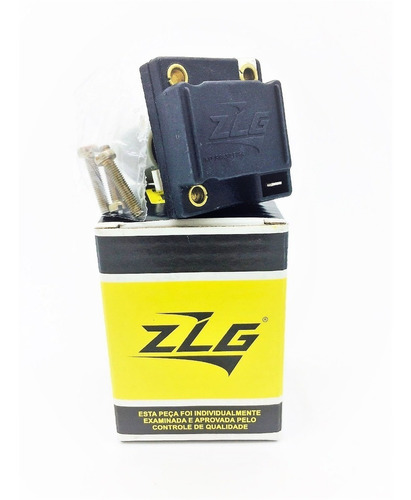Porta Escova Com Regulador Voltagem Kombi Fusca ZLG-8000  !!