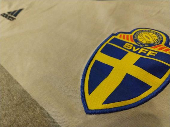 Camiseta Suecia Suplente Impecable Talle L adidas