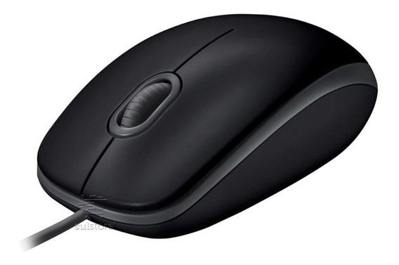 Mouse Óptico Logitech Usb M110 Preto Clique Silencioso