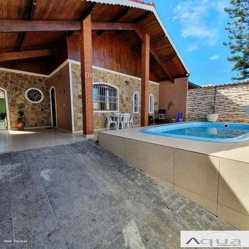 Imagem 1 de 15 de Casa Para Venda Em Peruíbe, Balneario Oasis, 4 Dormitórios, 1 Suíte, 3 Banheiros, 2 Vagas - Pe026sp_2-1217920
