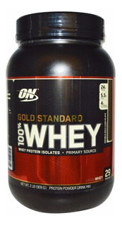 100% Whey Gold Standard Optimum Nutrition 2lbs 909g
