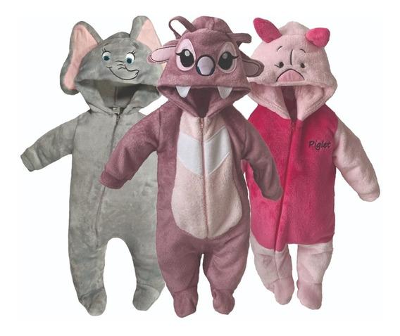 Kit 3 Mamelucos Disney Dumbo, Angel, Piglet A Precio De 2