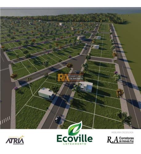 Imagem 1 de 2 de Terreno À Venda, 200 M² Por R$ 45.000,00 - Loteamento Ecoville - Foz Do Iguaçu/pr - Te0354