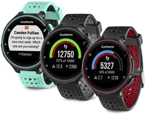 Relógio Monitor Cardiaco Garmin Forerunner 235 Gps