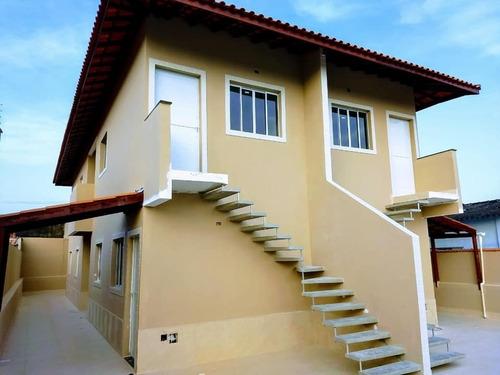 Imagem 1 de 15 de Casa Nova De 2 Dorms - Ultimas Unidades - 50m Da Rodovia - Nv.itanhaém - 1423
