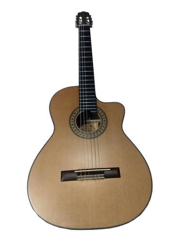 Imagem 1 de 9 de Violão Luthier Araujo Imbuia/cedro Cutway Nylon