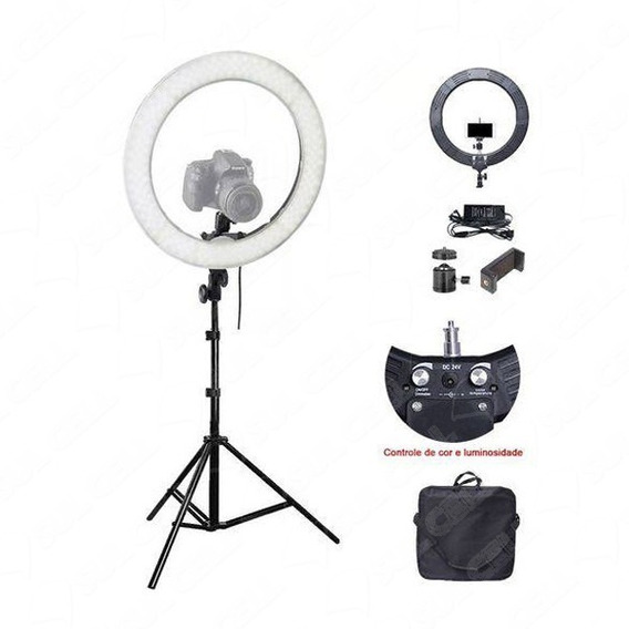 Iluminador Led Ring Light 12 3500/5500k 35cm