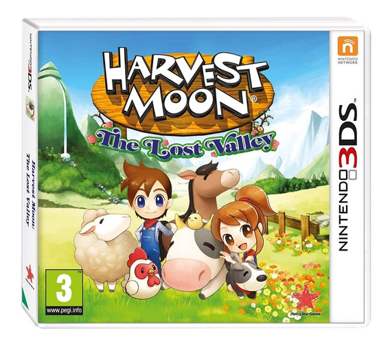 Harvest Moon: The Lost Valley 3ds Nuevo