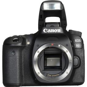 Câmera Canon Eos 80d 24mp Wifi (só O Corpo) Pronto Entrega