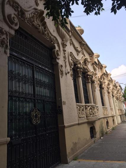 Edificio En Colonia Roma, Con Uso De Suelo Oportunidad