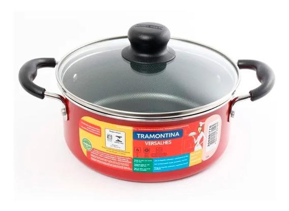 Cacerola Olla De Cocina Tramontina Versalhes 24 Cm 4,9 L