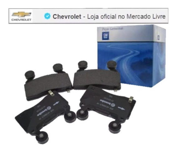 Kit Pastilhas Freio Dianteiro Original Camaro 2011 92244289