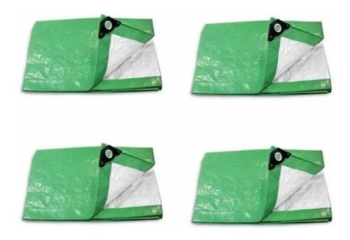 Lona Toldo Impermeable Pretul Verde 3 X 3 Metros Mf Shop