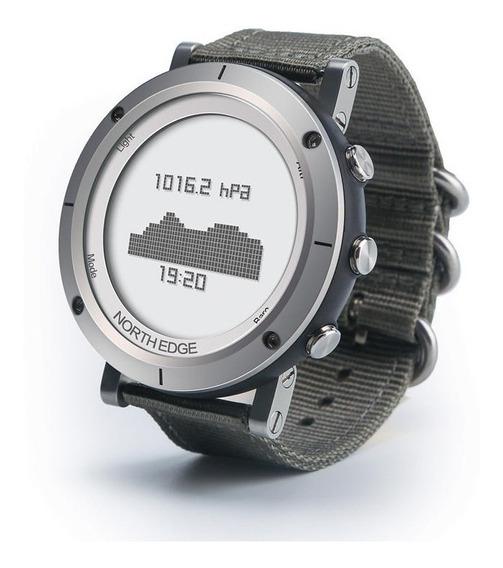 Relógio Masculino North Edge F. Cardíaca Altímetro Bússola..