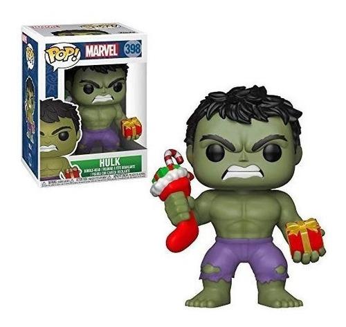 Imagen 1 de 1 de Funko Pop #398 Hulk Holiday