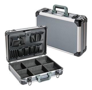 Maletin Aluminio Reforzado Robust Caja Herramienta Llaves 42--18 Cuotas Sin Interes