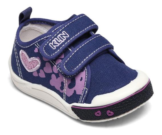 Tênis Klin Toy Jeans Escuro/lilás 942.142000-010938
