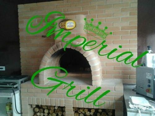 Forno De Pizza Para Churrasqueira De Alvenaria