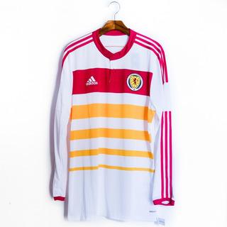 Camisa De Futebol Masculino Escócia 14/15 adidas Adizero