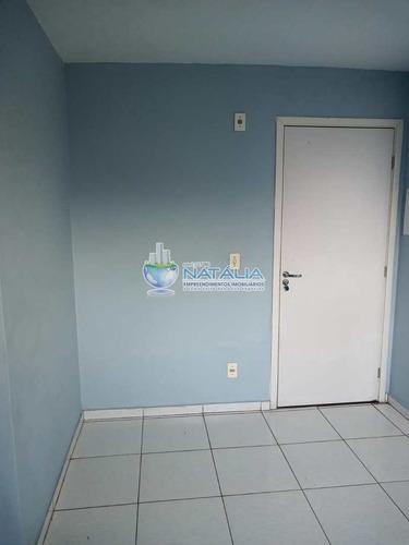 Apartamento Com 2 Dorms, Vila Homero Thon, Santo André - R$ 265 Mil, Cod: 64599 - V64599