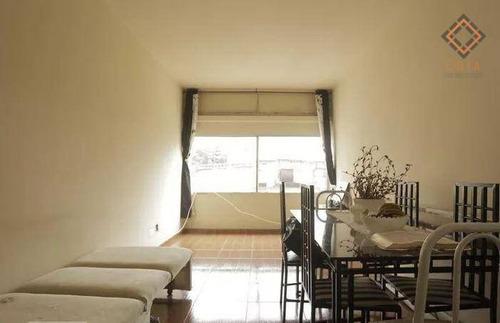 Apartamento Com 1 Dormitório À Venda, 67 M² Por R$ 260.000,00 - Santa Cecília - São Paulo/sp - Ap48764