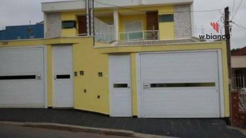 Sobrado Residencial À Venda, Jardim Santo Antônio, Santo André - So0285. - So0285