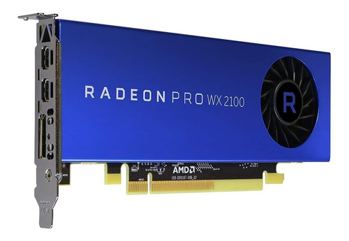 Placa Video Amd Radeon Pro Wx 2100 2gb Gddr5 Simil Quadro Dg