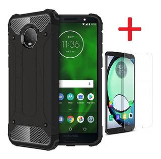 Funda Case Moto G6 Plus G6 Play E5 E5 Plus Z2 Play + Cristal
