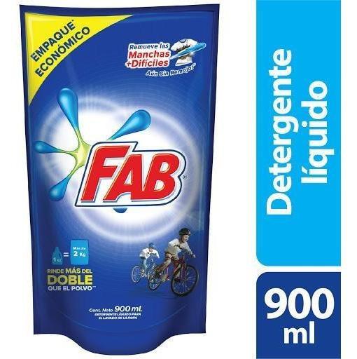 Detergente Fab Liquido