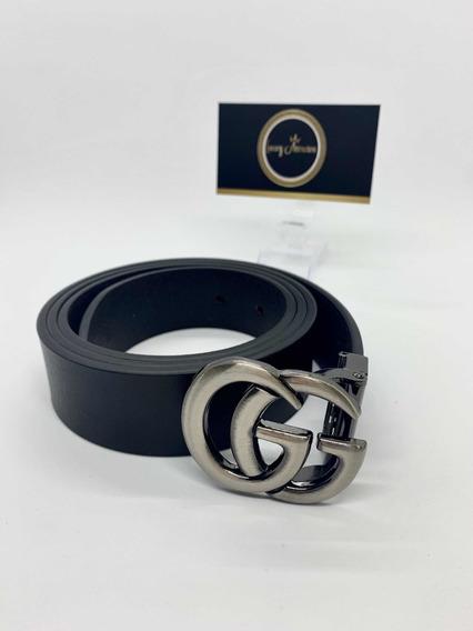 Cinturón Gucci Negro Alta Calidad De Hombre