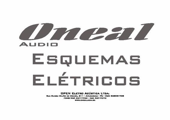Oneal Esquema Eletrico Diagrama Caixas Ativas Oneal Opb