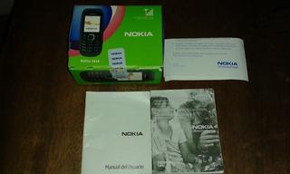 Caja De Celular Vacia Con Su Manual. Nokia 1616
