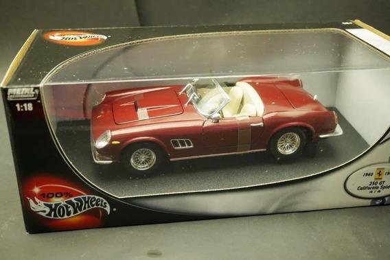 Ferrari 250 Gt California 1:18 Hotwheels Ñ Minichamps Schuco